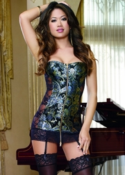 Exotic Treasures Strapless Chemise
