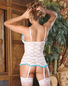 Exposed Love Lace Chemise & Thong Set