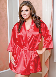 Extra Plus Size Decadent Dreams Sexy Robe