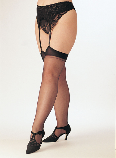 Extra Plus Size Sheer Stretch Nylon Stockings