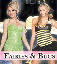 Fairies, Pixies, Bugs, Sexy Fairy, Bees Costumes
