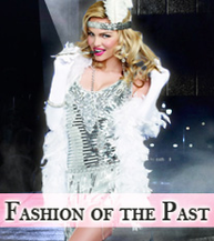 Fashion of the Past, Vintage, Retro Costumes