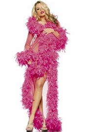 Feather Glamour Robe