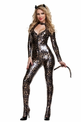 Feisty Leopard Costume