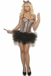 Feline Fifi 4 PC Costume