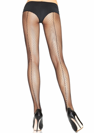 Fishnet Backseam Pantyhose