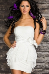 Forbidden Desires Lace Mini Dress