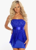 Forbidden Fantasies Lace Mini Dress