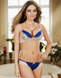 Forever Yours Extreme Cleavage Demi Bra / Panty Set