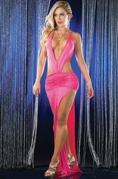 Glamour Loving Doll Sexy Long Gown