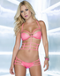 Glowing Radiance Sexy Bra Top & Panty Set