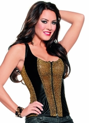 Golden Beauty Sexy Corset