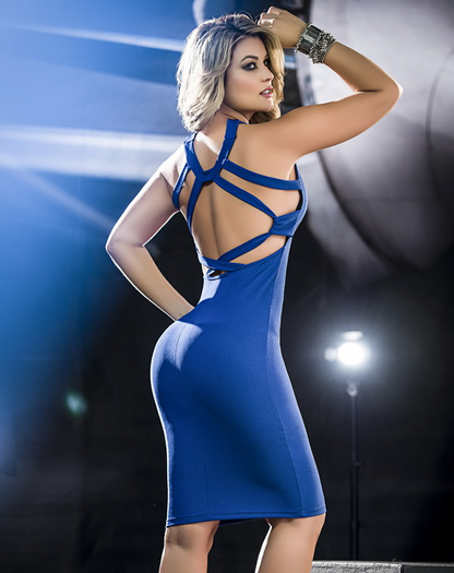 Gorgeous Glam Sexy Knee Length Dress