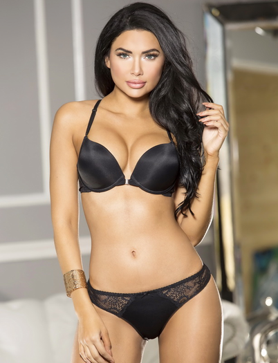 Got You Hooked Front Clasp Bra & Panty Set