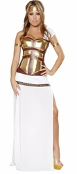 Greek Goddess Sexy 4 PC Costume