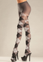 Grey Argyle Tights