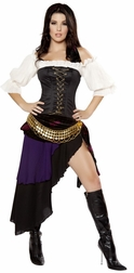 Gypsy Mistress Sexy 3 PC Costume