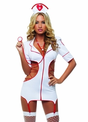 Heart Stopping Nurse Sexy 3 PC Costume