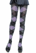 Heather Argyle Tights