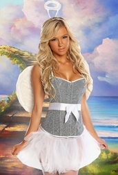 Heavenly Sweet 4 PC Angelic Costume