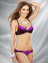 Hold Me Close Extreme Cleavage Demi Bra / Panty Set