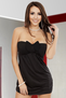 Hot Date Tonight Black Mini Dress