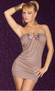 Hot Date Tonight Mocha Mini Dress