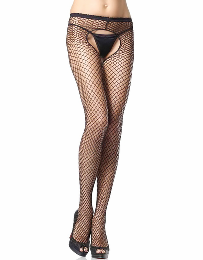 Industrial Net Crotchless Pantyhose