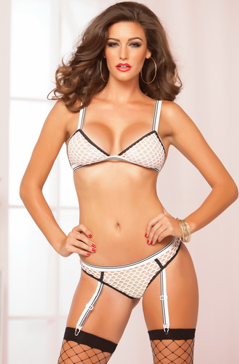 Infinitely Kinky Sexy 2 Piece Bra Set