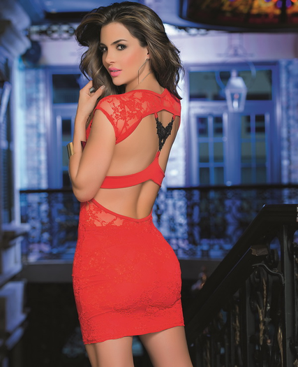 Look At Me Sexy Lace Dress