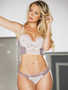 Madeline Lace Long Line Bra