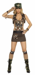 Major Hottie 4 PC Costume