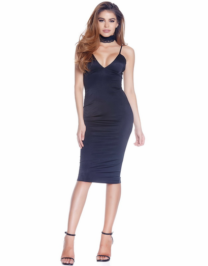 Major Key Cutie Mid Bodycon Dress