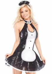 Exotic French Maid Sexy Costume