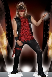 Men's Rocker Dude Costume