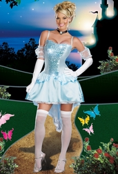 Midnight Magic Sexy Princess Costume