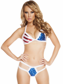 Miss America Pucker Back Bikini