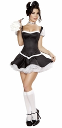 Mistress Maid Sexy 5 PC Costume