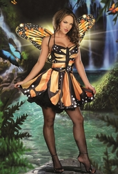 Monarch Fairy Sexy Costume