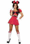 Mousey Mistress Sexy 3 PC Costume