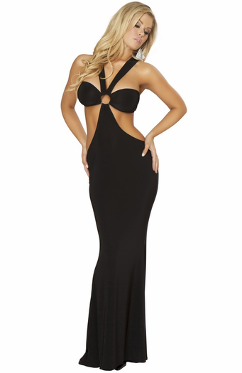 Naughty & Elegant Sexy Long Gown