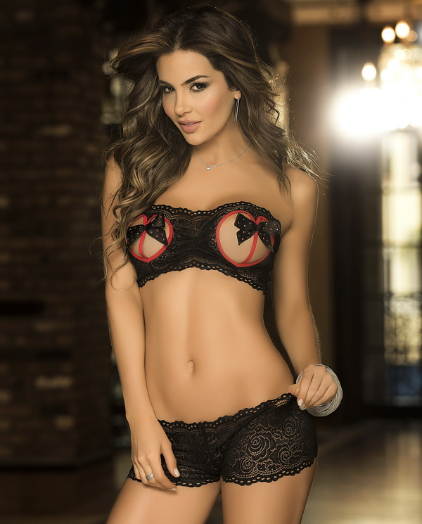 Night You'll Never Forget Lace Bra Set