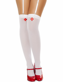 Nurse Thigh High Stockings