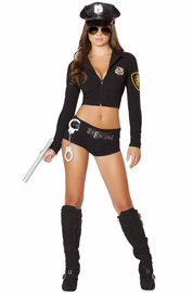 Officer Hottie Sexy 7 PC Costume
