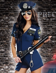 Officer Sheila B. Naughty Sexy Costume