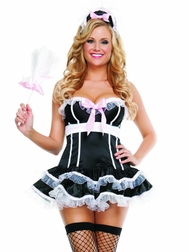 Penthouse Maid Sexy 3 PC Costume