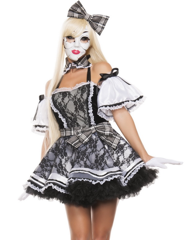 Porcelain Doll Costume, Doll Costume, Halloween Doll ...