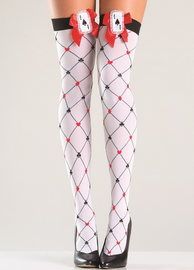 Playing Card Thigh Highs
