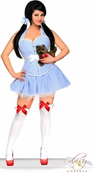 Plus Size 3 PC Sexy Dorothy Costume