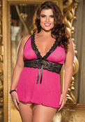 Plus Size Arousing Your Man Sexy Babydoll